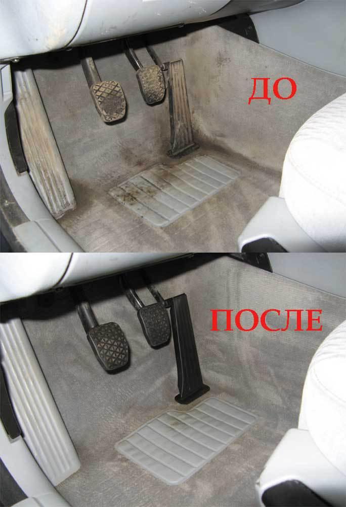 Почистить салон автомобиля своими руками